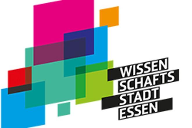buntes Logo der Wissenschaftsstadt Essen