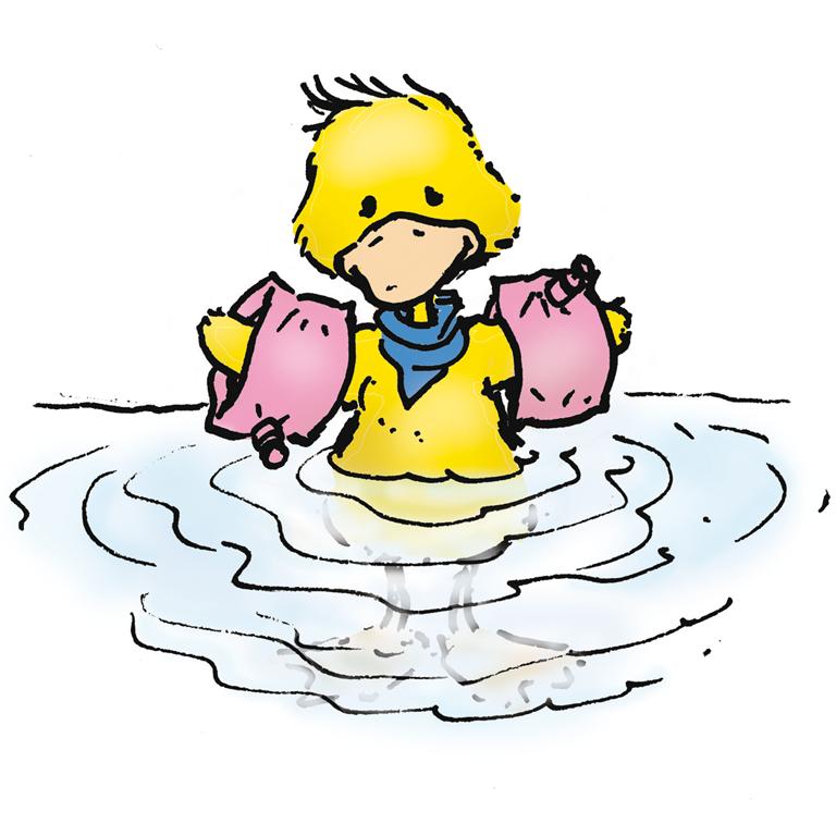 Bild: Comic Nichtschwimmer