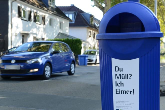 Foto: Papierkorb-Sprüche