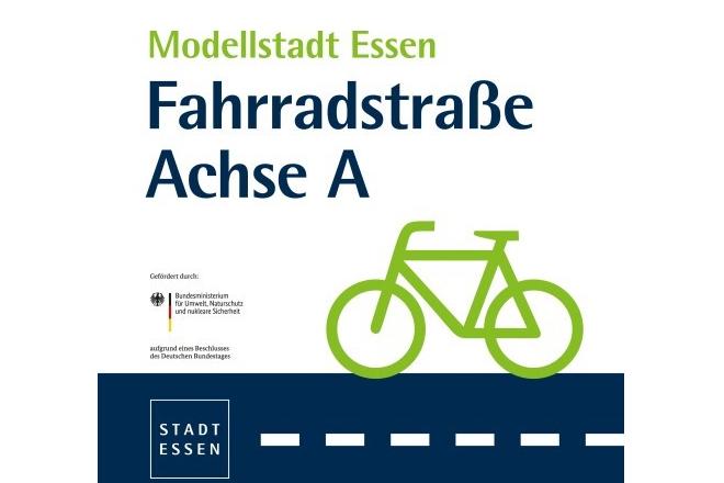 Logo Fahrradstraßenachse A
