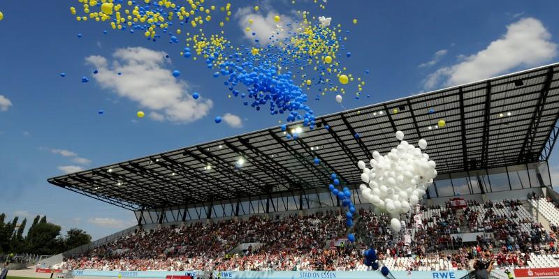 Eröffnungsveranstaltung des Stadion Essen