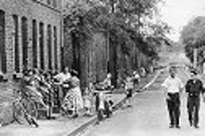 Bild: Vogelheim Siedlung Wildstr. um 1950