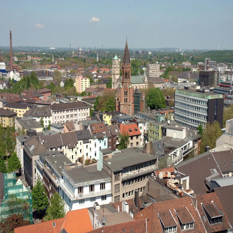 Foto: Stadtansicht aus der Luft