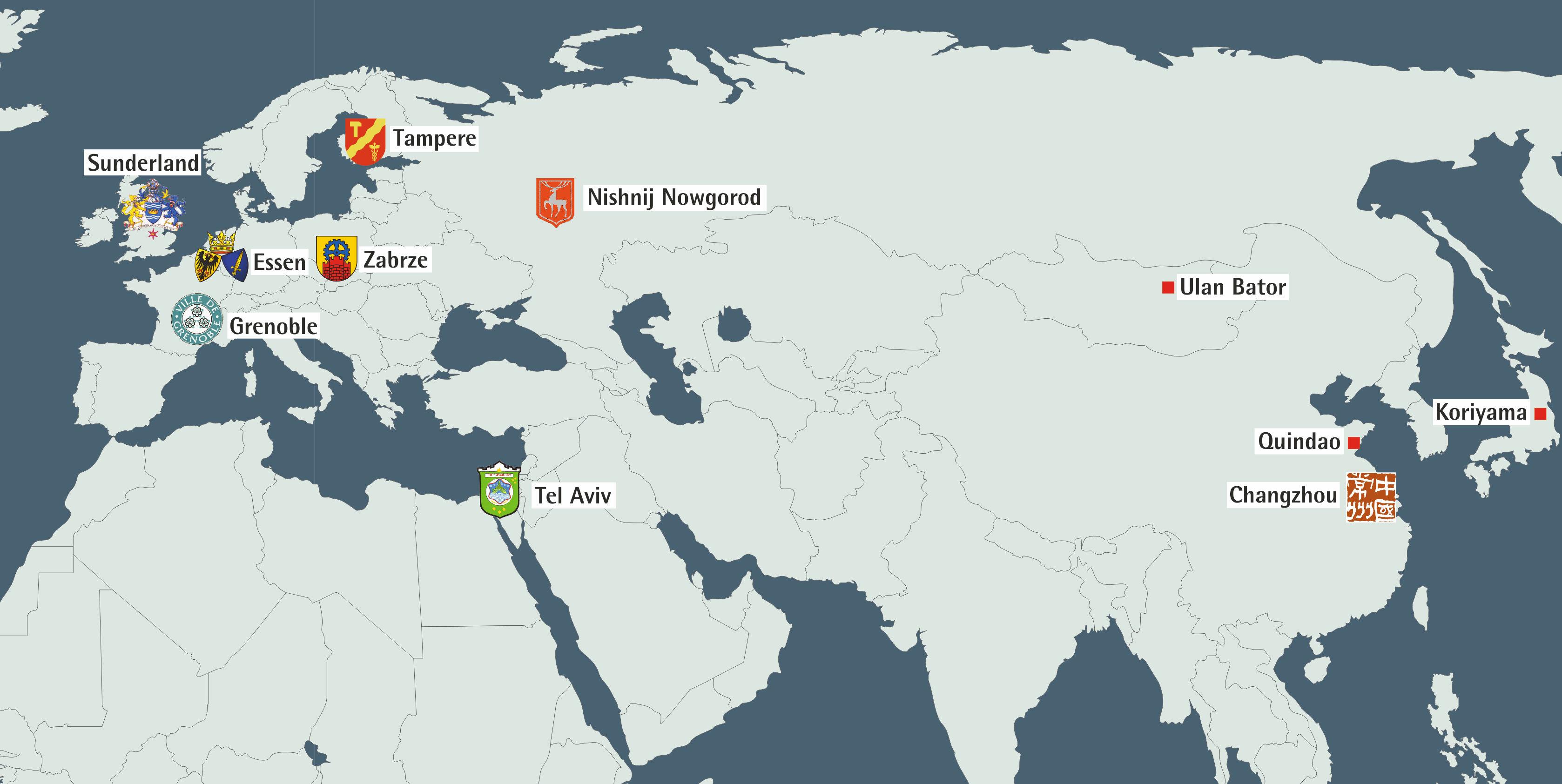 Grafik: Weltkarte