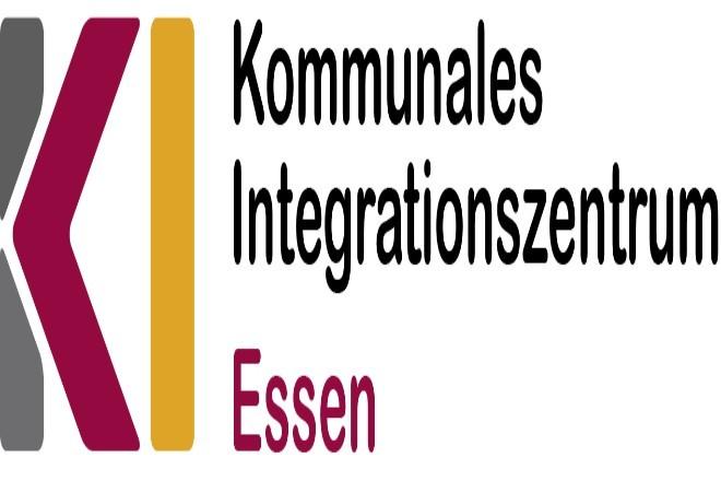Logo des Kommunalen Integrationszentrums Essen