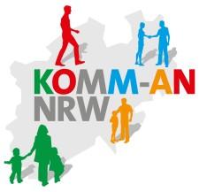 Logo des Förderprogramms Komm-An