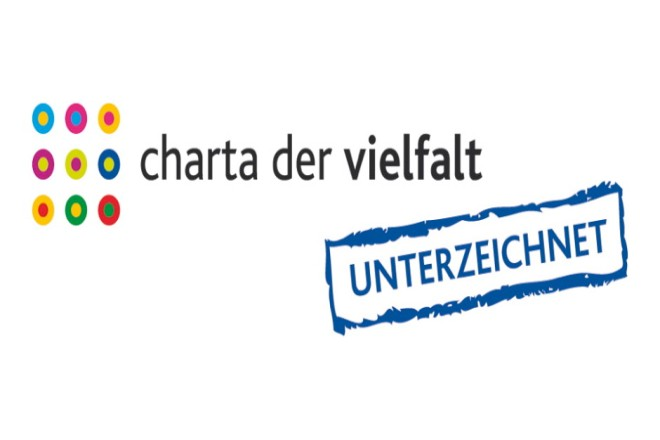 Logo Charta der Vielfalt (unterzeichnet)