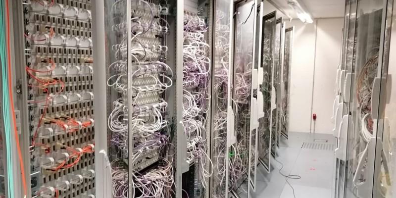 Serverraumansicht