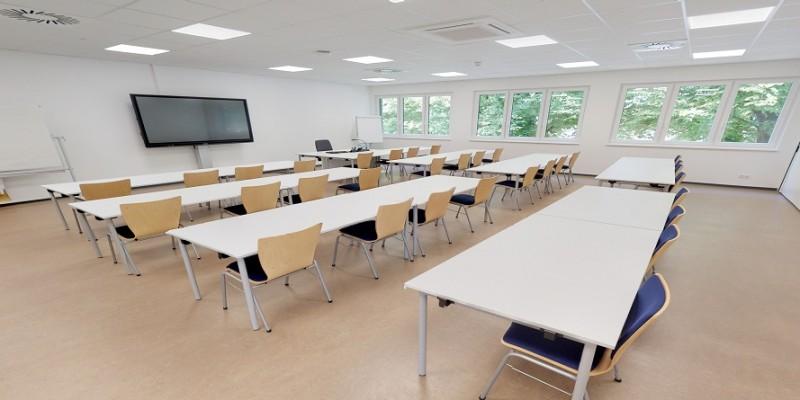 Unterrichtsraum im Erweiterungsbau