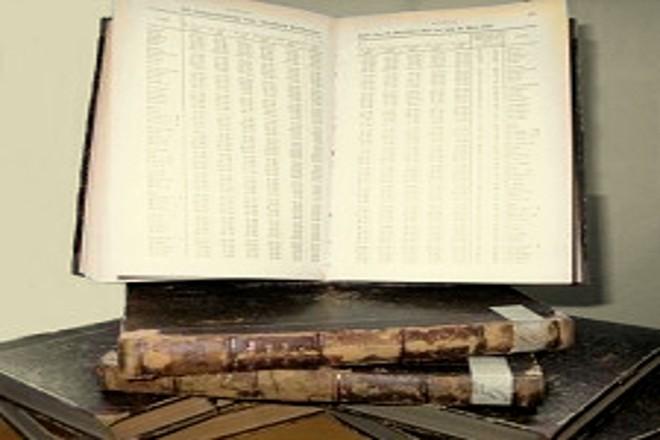 Foto: Bücher mit antiken Texten