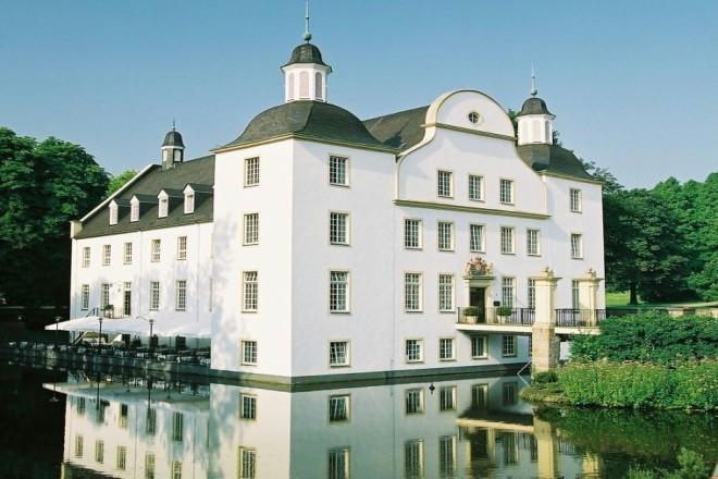 Foto: Außenansicht vom Schloss Borbeck