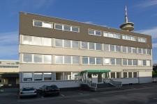 Foto: Gebäude der Zentralen Ausländerbehörde in Essen