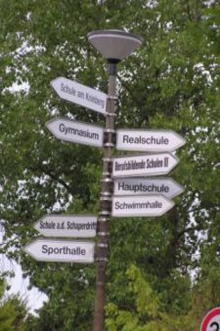 Schilderwald: Schulen