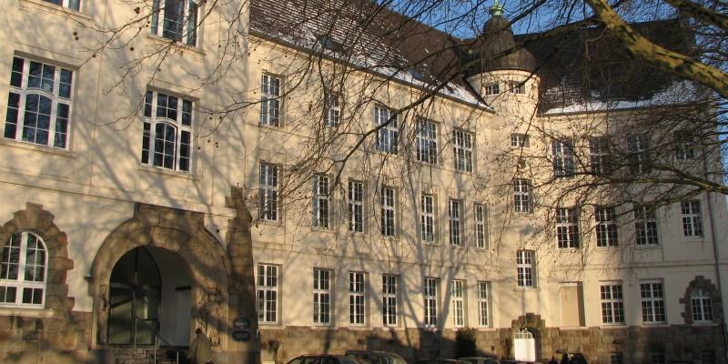 Eingangsbereich Haus der Essener Geschichte / Stadtarchiv