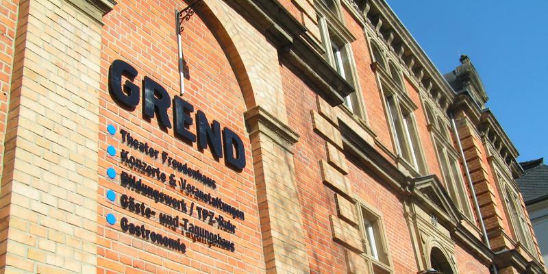 Fassade GREND-Kulturzentrum