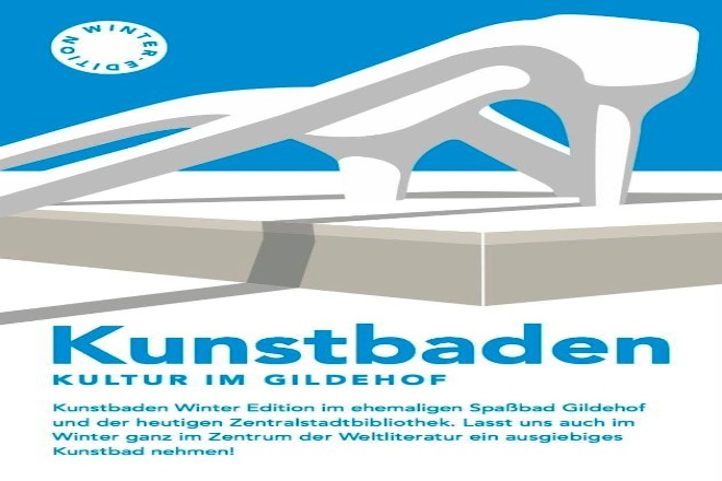 Flyer Kunstbaden Winter Edition