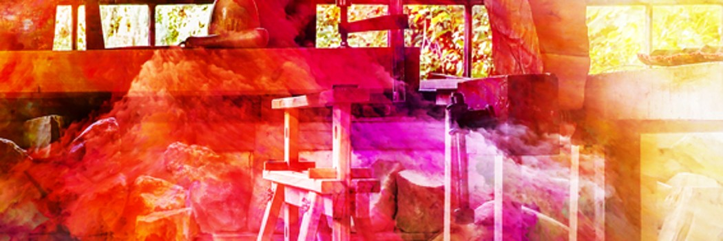 Atelieransicht - Holzgestellt