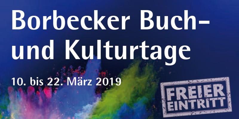 Schriftzug Borbecker Buch- und Kulturtage 2019