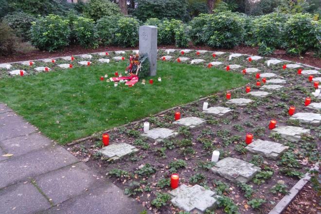 Foto: Grabanlage auf dem Parkfriedhof Essen