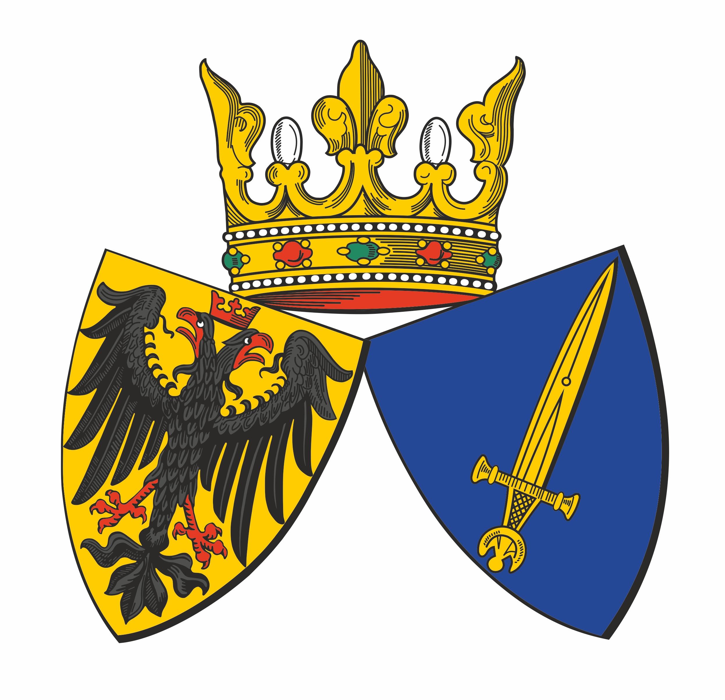 Farbige Abbildung des Essener Stadtwappens
