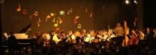 Das Orchester des Burggymnasiums beim Burgkonzert 2006