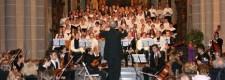 Weihnachtskonzert des Musischen Gymnasiums Essen-Werden 2004 in der Basilika St. Ludgerus unter Leitung von Georg Dücker