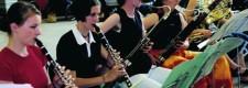 Probe des Jugend-Symphonie-Orchesters 2003 im Jugendzentrum Papestraße