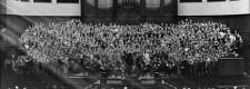 Der Tausendkinderchor im Saalbau 1933