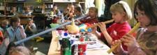 Flötenkonzert in der Grundschule am Lönsberg mit der Initiative AKTIVE MUSIK
