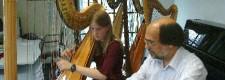 Harfenunterricht in der Folkwang Musikschule (2004)