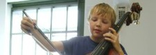 Kontrabassunterricht in der Folkwang Musikschule (2004)