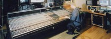 Tonaufnahmestudio im Institut für Computermusik und Elektronische Medien