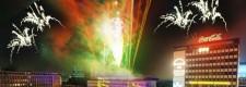ESSEN.ORIGINAL 2002: Feuerwerk auf dem Kennedyplatz