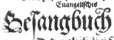Seite aus der Faksimileausgabe des Essendischen Gesangbuch von 1614, vorhanden in der Stadtbibliothek Essen