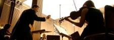 Das Folkwang Kammerorchester im Konzertsaal der Villa Hügel
