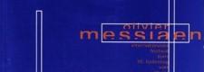 Programm des Messaien-Festivals 2002 MUSIK SEHEN, LICHT HÖREN