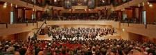 Eröffnungskonzert mit den Essener Philharmonikern im Alfried Krupp Saal der neuen Philharmonie am 5. Juni 2004