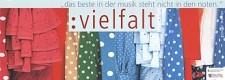 Plakat zum Jubiläum der Arbeitsgemeinschaft Deutscher Chorverbände Chor - Visionen in Musik 2002 in Essen