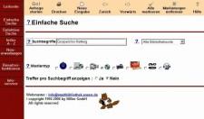Alphabetische Suche im Online-Katalog der Stadtbibliothek