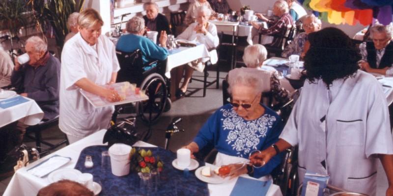 Foto: Senioren feiern
