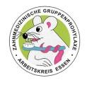Bild Logo Arbeitskreis Zahnmedizinische Gruppenprophylaxe - abgebildet ist eine Maus mit einer Zahnbürste