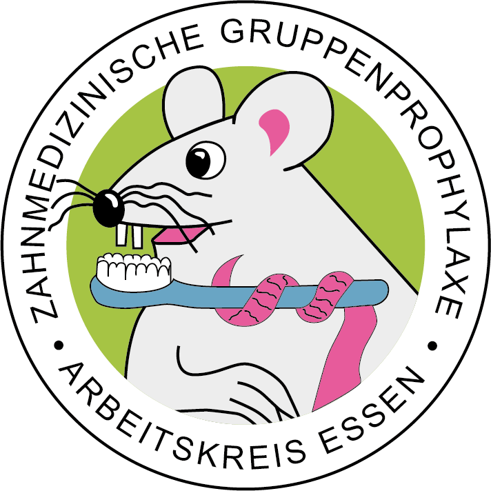 Logo des Arbeitskreises zahnmedizinische Gruppenprophylaxe in Essen