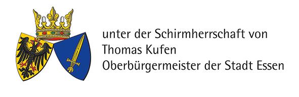 Bild: Logo Schirmherrschaft Oberbürgermeister Thomas Kufen