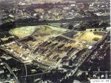 Foto: Wohnsiedlung aus der Luft gesehen