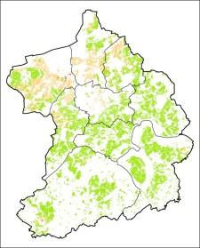 Foto: Bodenbelastungskarte der Stadt Essen