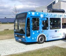Foto: Bus mit Wasserstoffantrieb