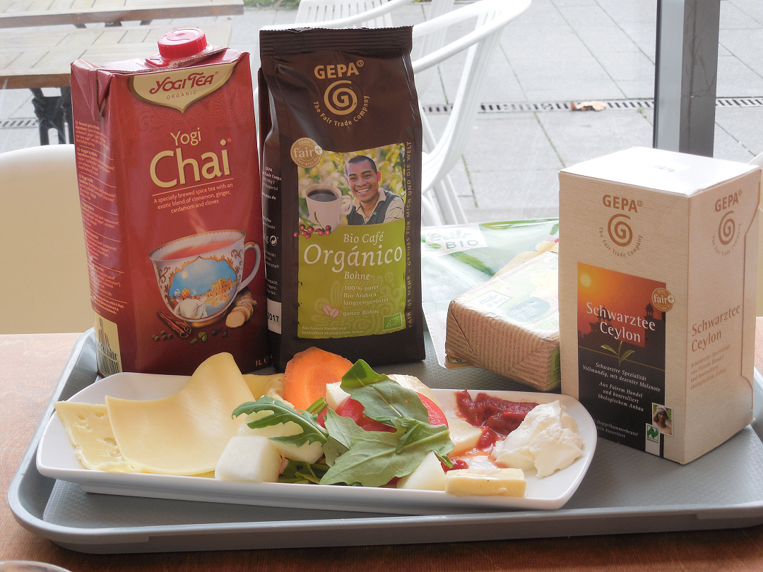 Foto: Fair gehandelte Frühstücksartikel