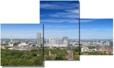 Fotomontage: Essener Skyline