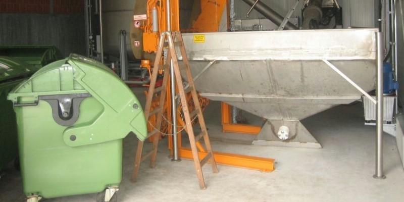 Bild: Maschine zur Ensorgung von Speiseabfällen