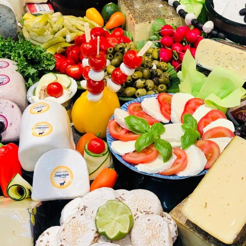Foto: Käse in einer Auslage